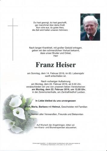 Franz Heiser