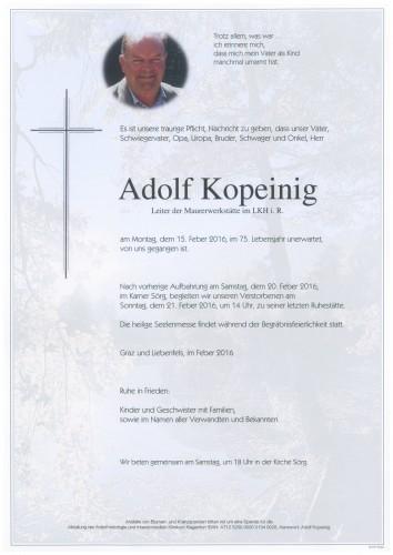 Adolf Kopeinig