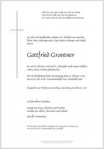 Gottfried Grantner