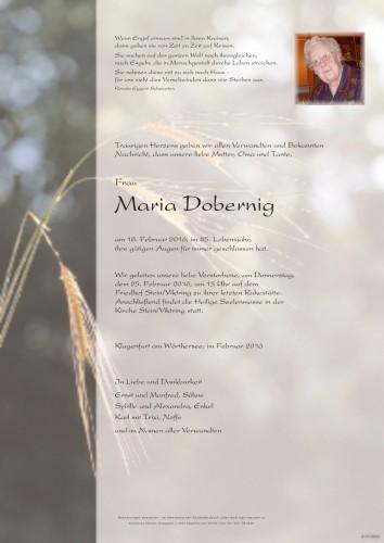 Maria Dobernig