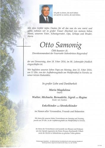Otto Samonig