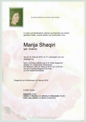 Marija Shaqiri