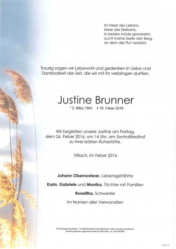 Justine Brunner
