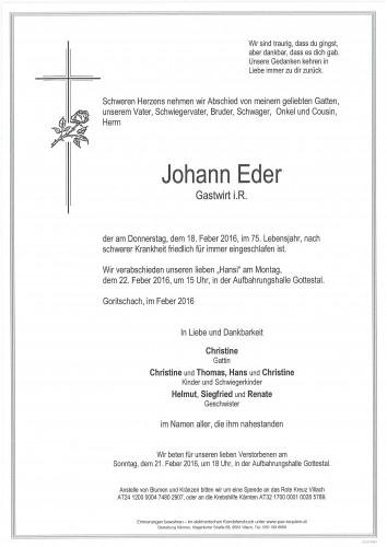 Johann Eder