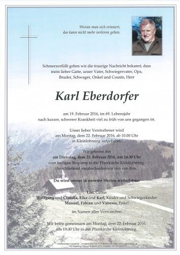 Karl Eberdorfer