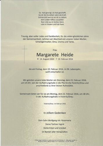Margarete Heide