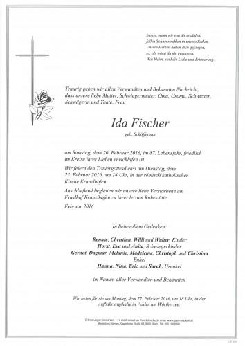 Ida Fischer