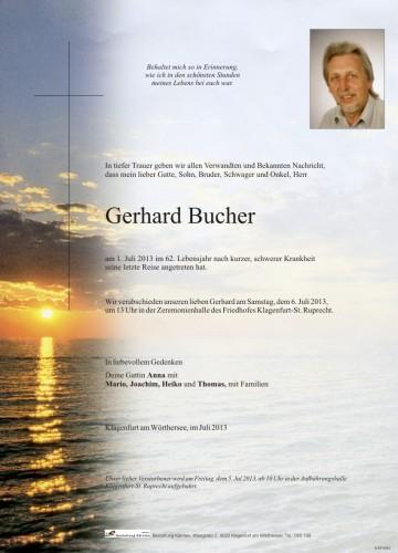 Gerhard Bucher