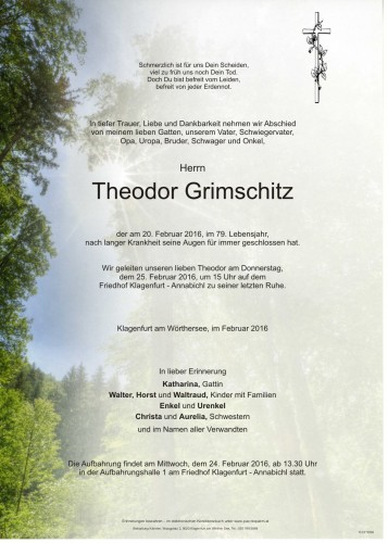 Theodor Grimschitz