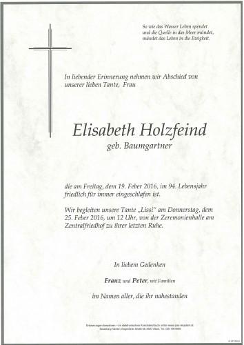 Elisabeth Holzfeind