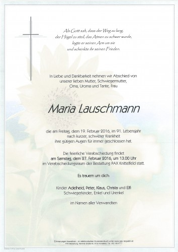 Maria Lauschmann