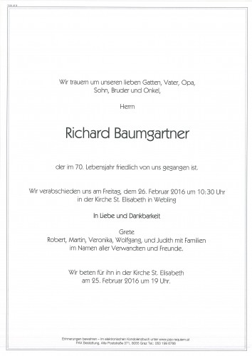 Richard Baumgartner