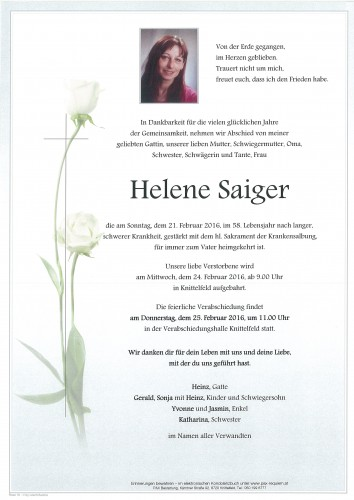 Helene Saiger