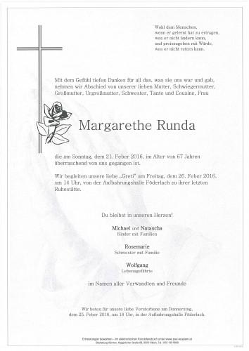 Margarethe Runda