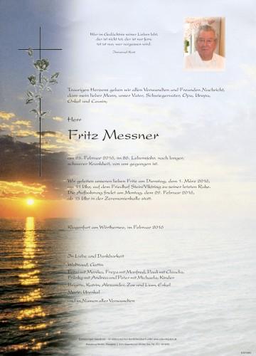 Fritz Messner
