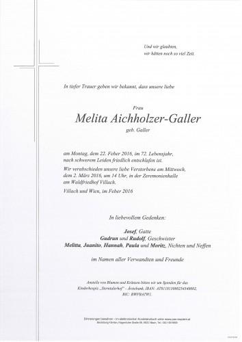Melita Aichholzer-Galler