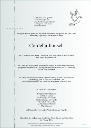 Cordelia Jantsch