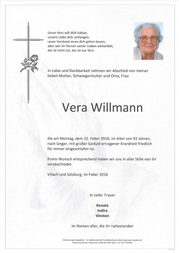 Vera Willmann