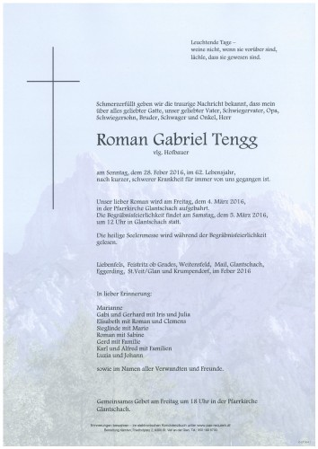 Roman Gabriel Tengg