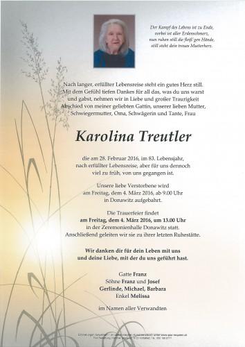 Karolina Treutler