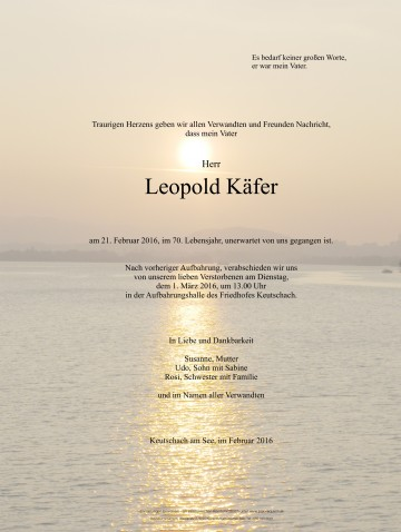 Leopold Käfer