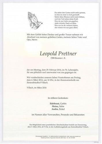 Leopold Prettner