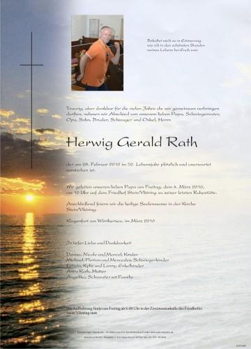 Herwig Gerald Rath