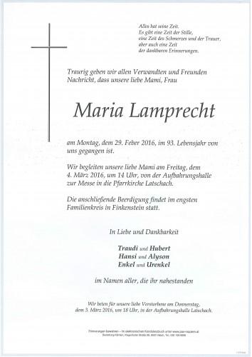 Maria Lamprecht