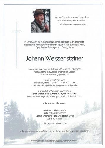 Johann Weissensteiner