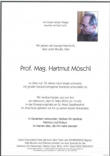Prof. Mag. Hartmut Möschl