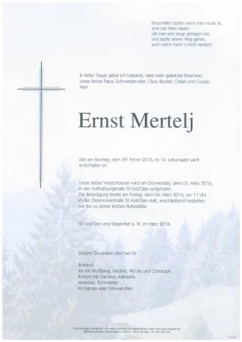 Ernst Mertelj