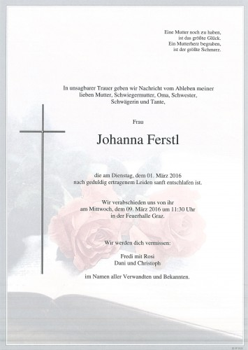 Johanna Ferstl