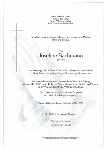 Josefine Bachmann