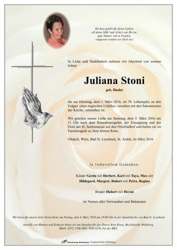 Juliana Stoni