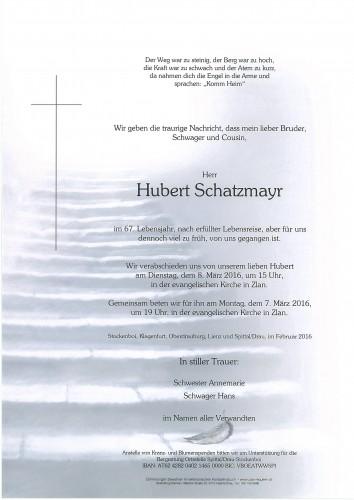 Hubert Schatzmayr