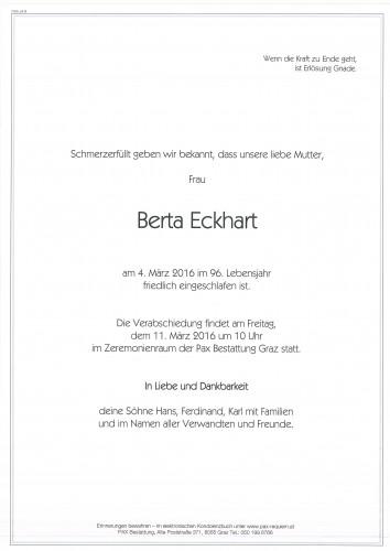 Berta Eckhart