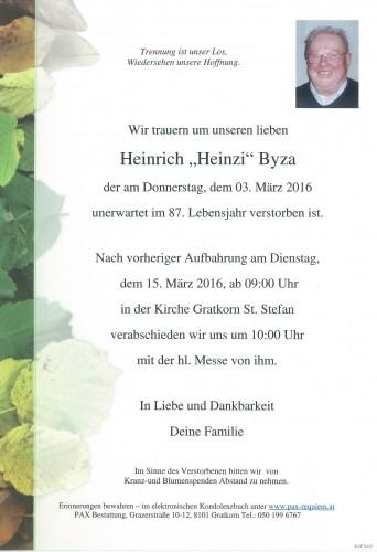 Heinrich Byza