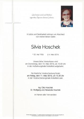 Silvia Hoschek