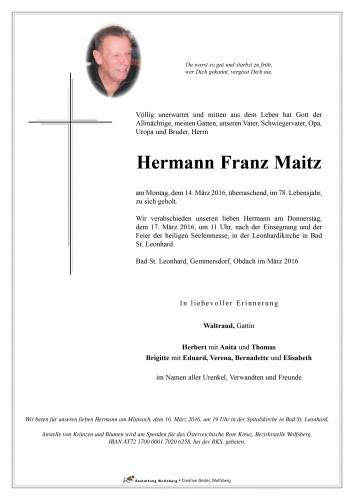 Hermann Maitz