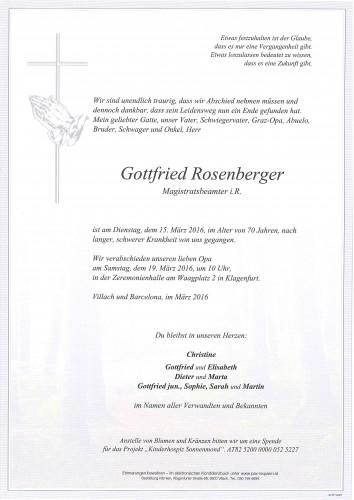 Gottfried Rosenberger