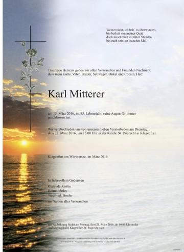 Karl Mitterer