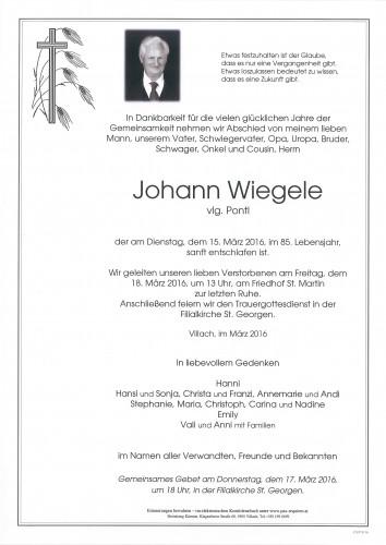 Johann Wiegele