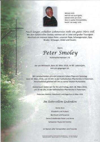 Peter Smoley
