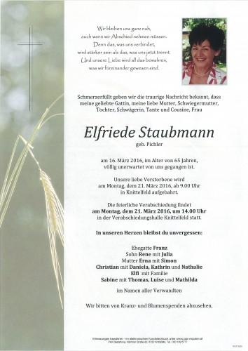 Elfriede Staubmann
