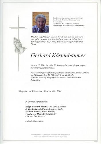 Gerhard Köstenbaumer