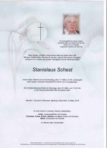 Stanislaus Schest