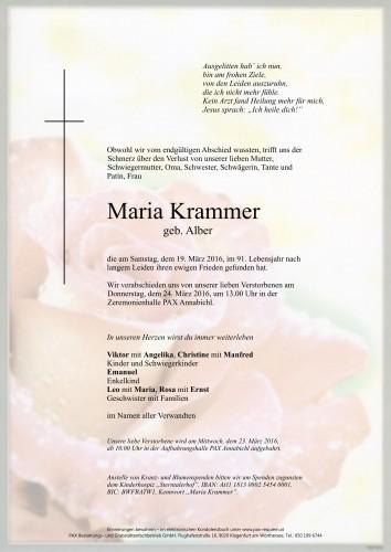 Maria Krammer