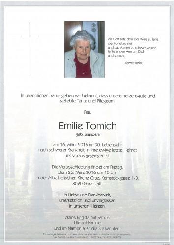 Emilie Tomich