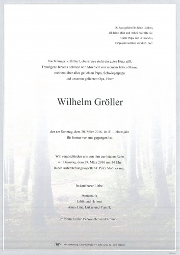 Wilhelm Gröller