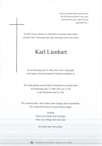 Karl Lienhart